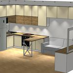 Дизайн-проект любой корпусной мебели по Вашим размерам