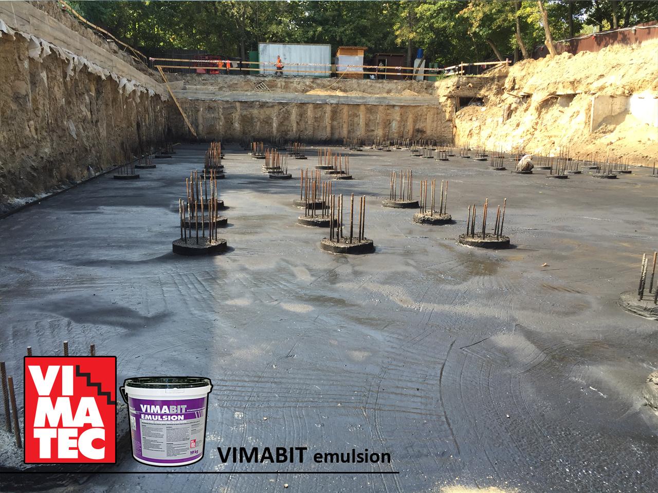 Фото Гидроизоляция фундамента, бетона. 2