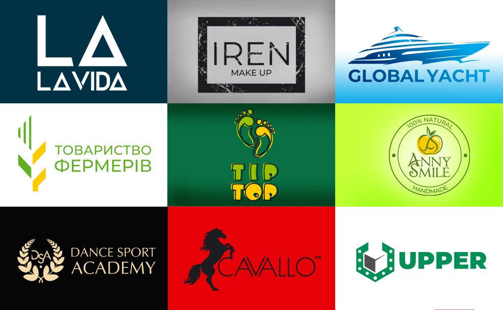 Фото Разработанные лого в разных тарифных пакетах