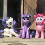 """Фигурки лошадок из м/ф """"My Little Pony"""" (Мой маленький пони)"""
