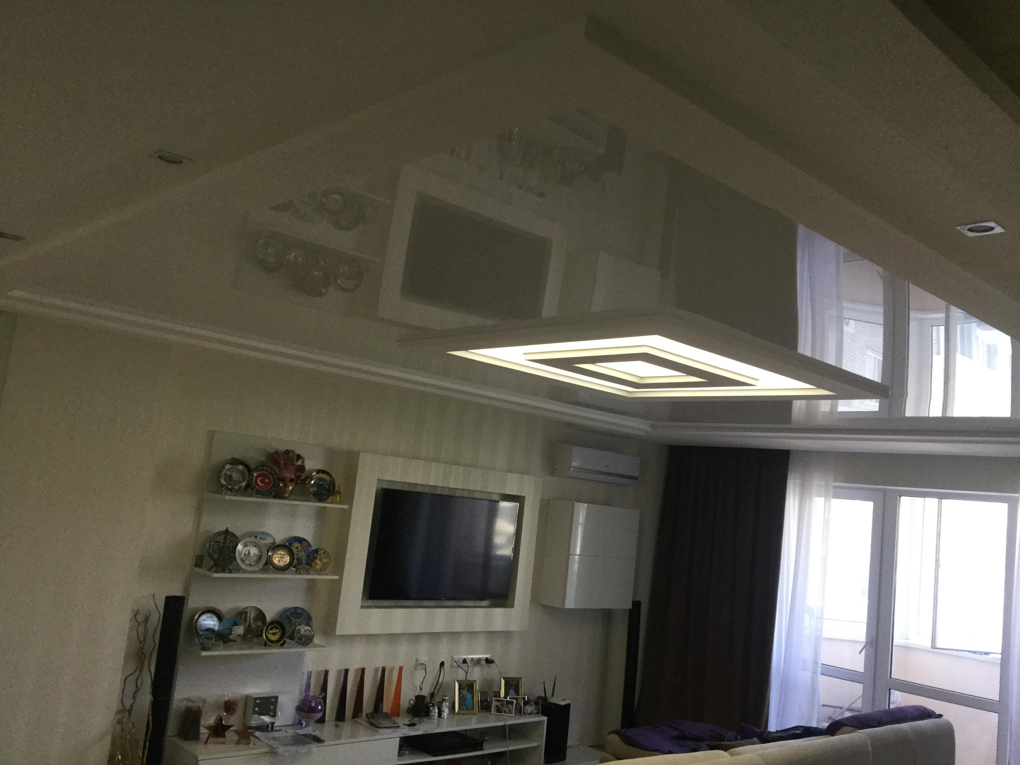 Фото Изготовление светодиодных светильников в натяжном потолке