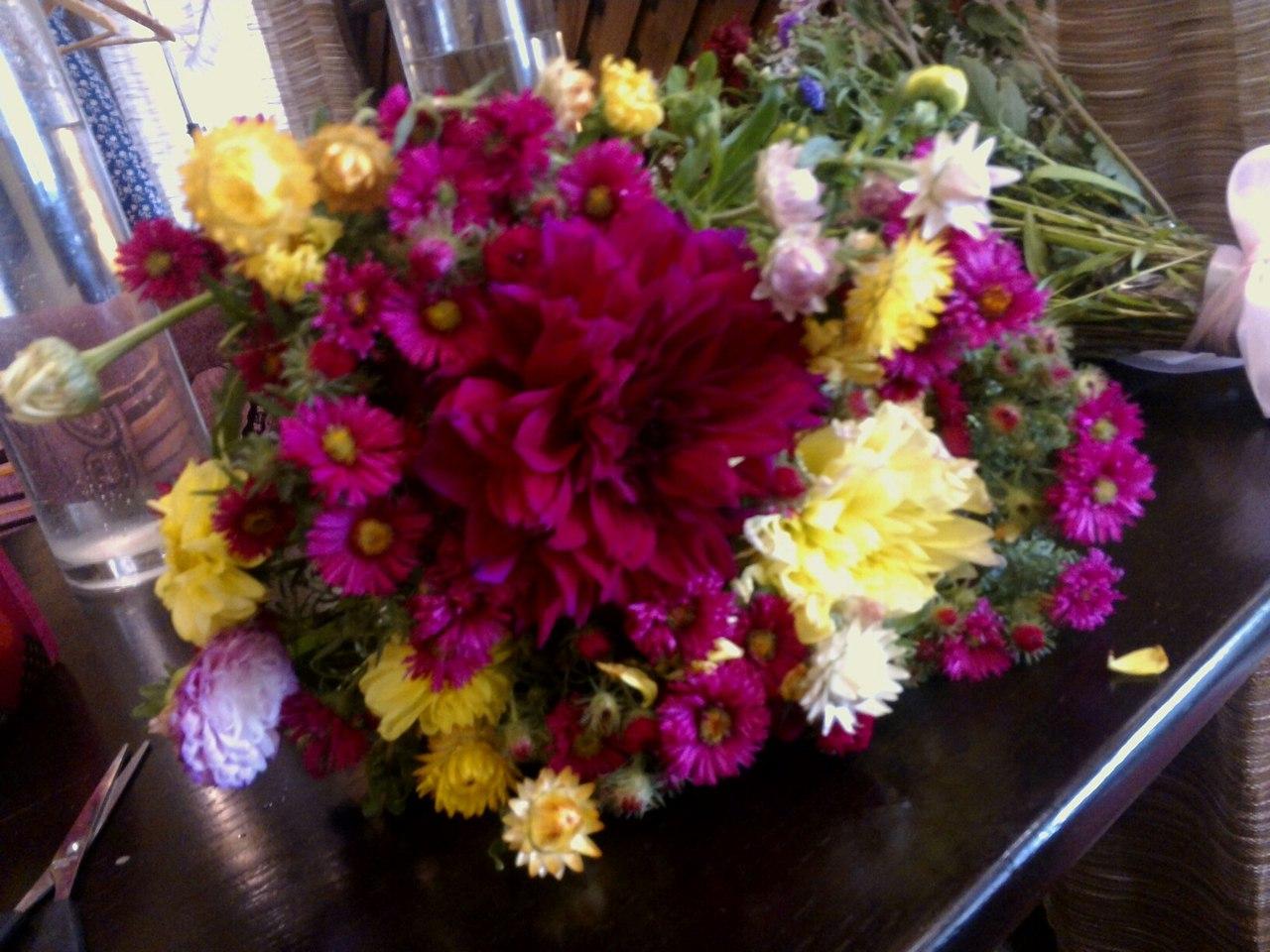 Фото Доставка цветочков