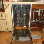 Подключение установка монтаж посудомоечной машины/машинки