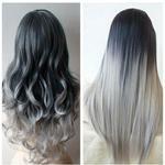 "Наращивание волос ""омбре"""