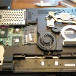 Чистка ноутбуков и компьютеров от пыли