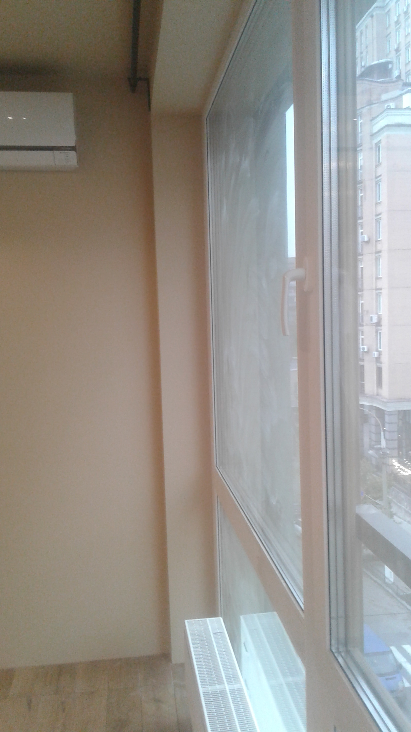Фото Мойка панорамных окон