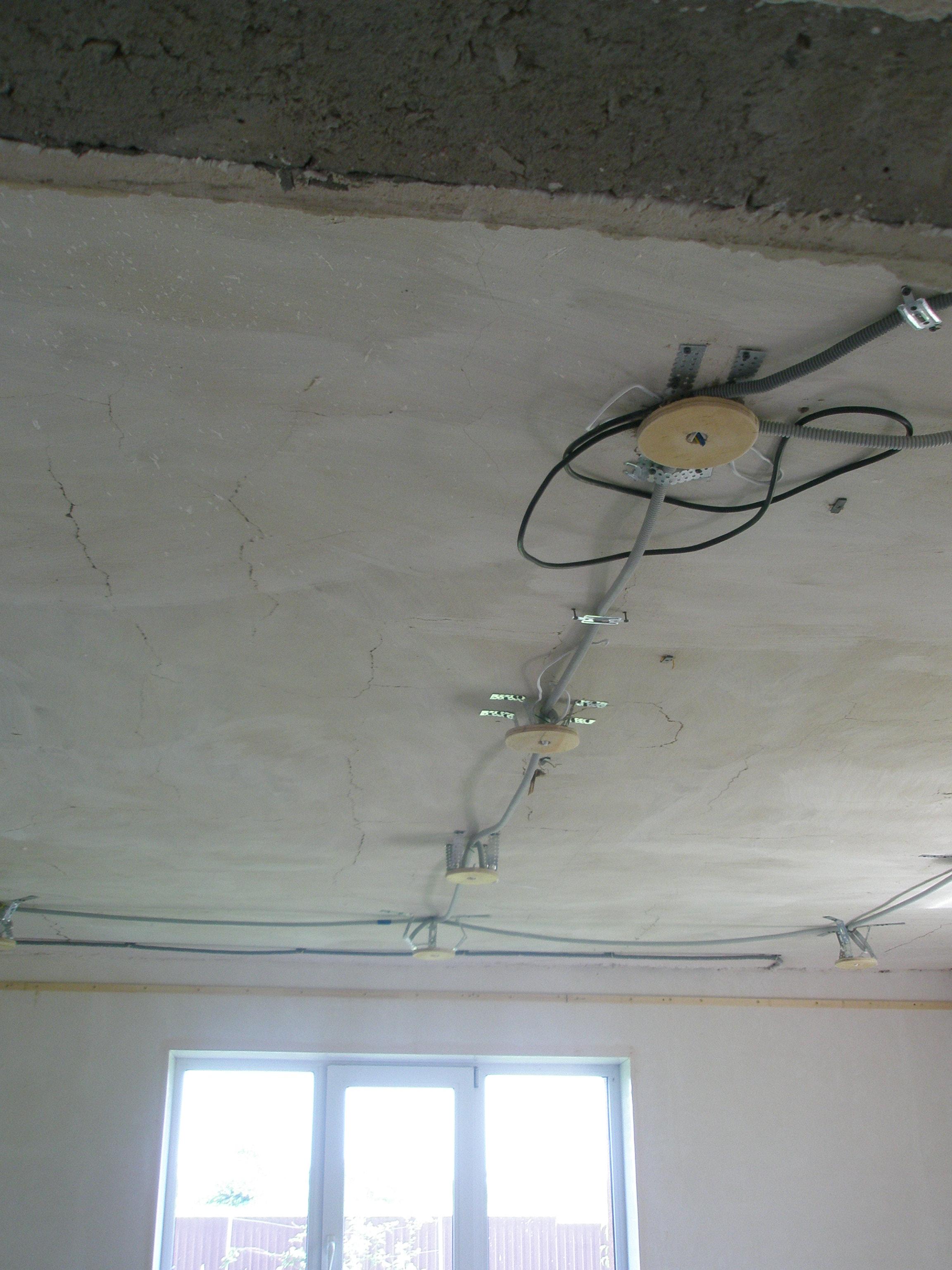 Фото Тканевый натяжной потолок 1