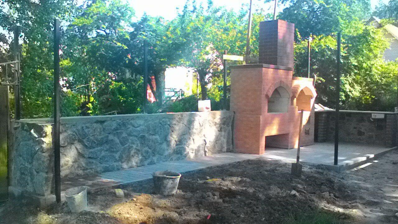Фото построим барбекю, камин, мангал,печь. 2