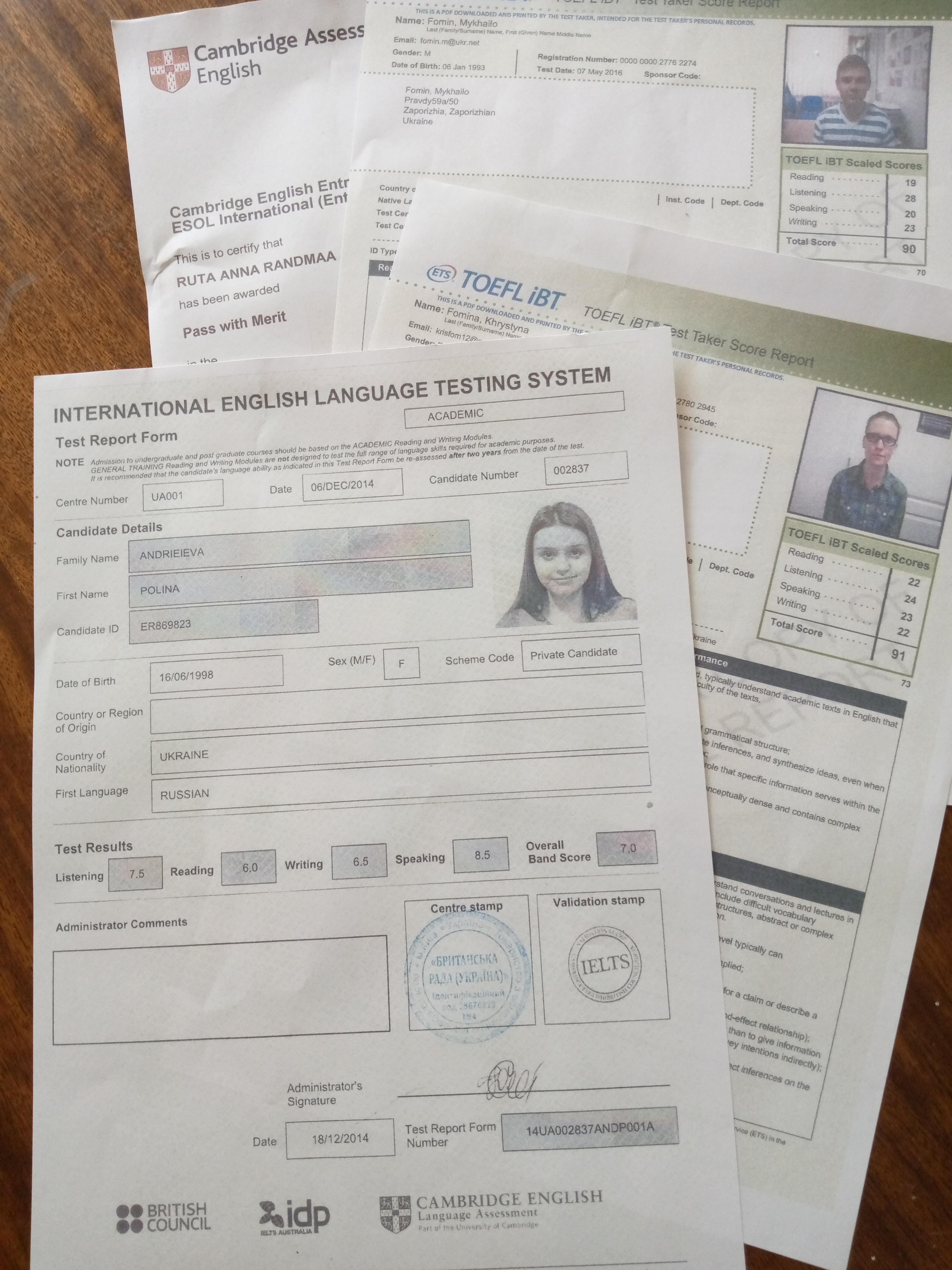 Фото Подготовка к экзамену IELTS 1
