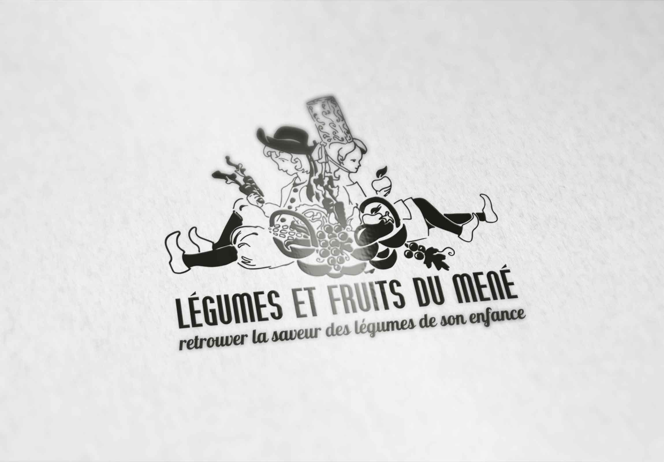 Фото Логотип для французской компании по выращиванию и продажи овощей и фруктов