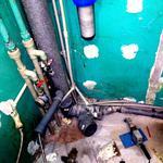 Замена стоянка канализации