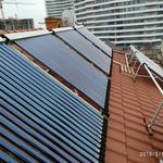 Установка солнечных коллекторов Vaillant