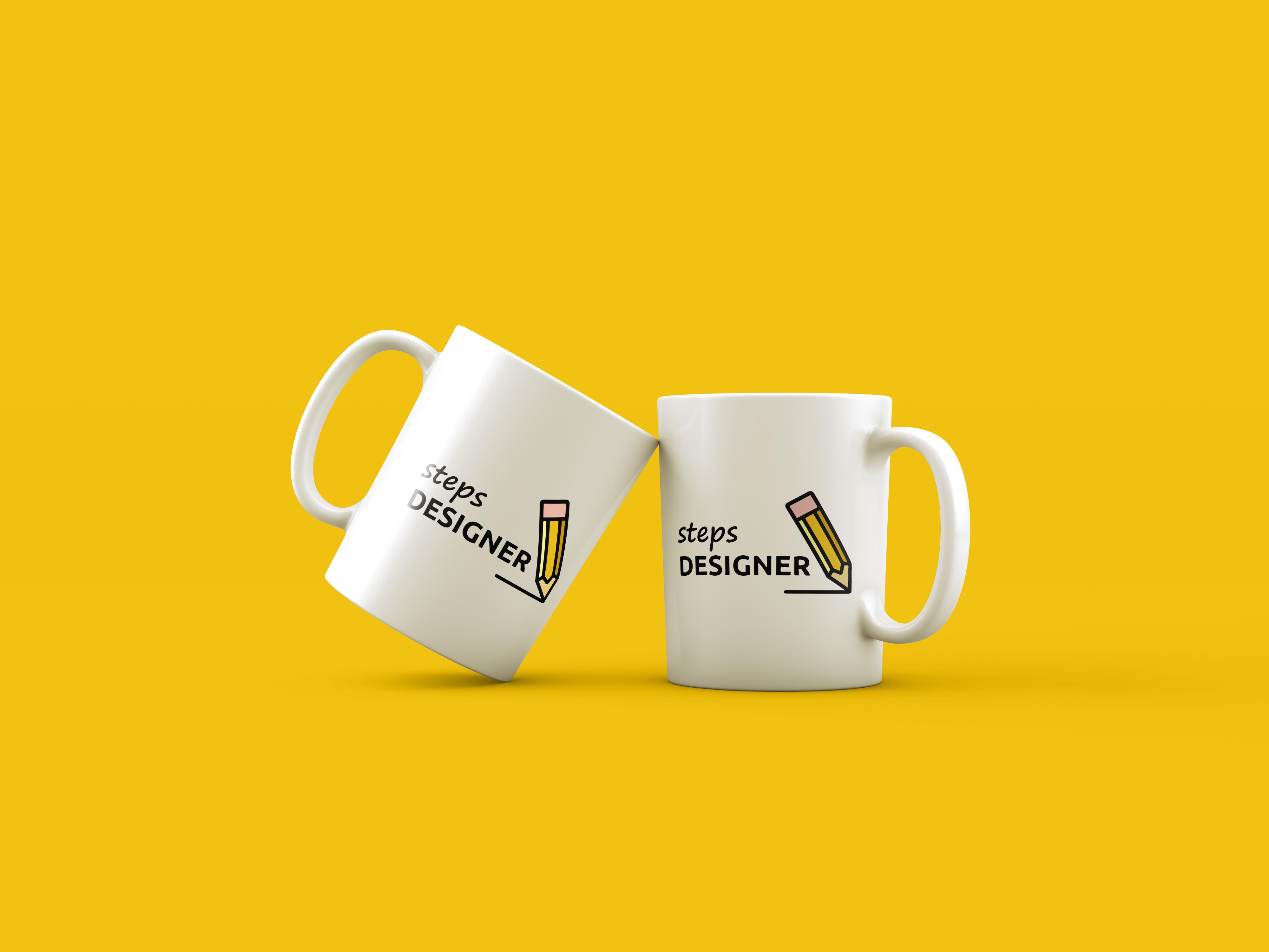 Фото Разработка логотипа для веб-студии Steps Designer Среда разработки: Adobe Illustrator Время работы: 2 часа
