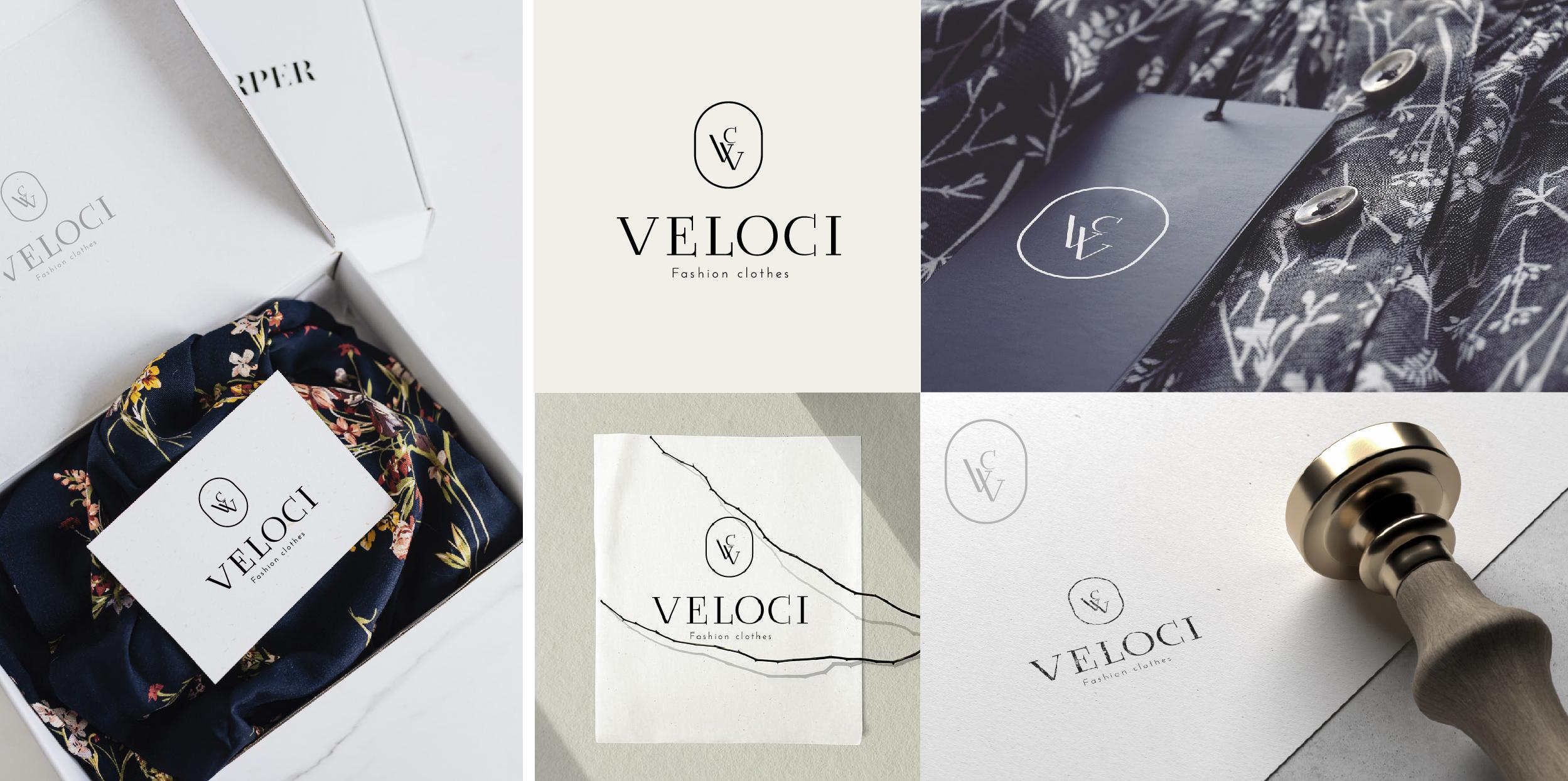 Фото Создание логотипа для бренда верхней одежды Veloci