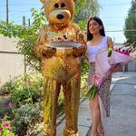 Медведь на праздник. Мишка Тедди. Ростовая кукла