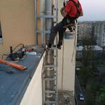 Услуги промышленных альпинистов Киев