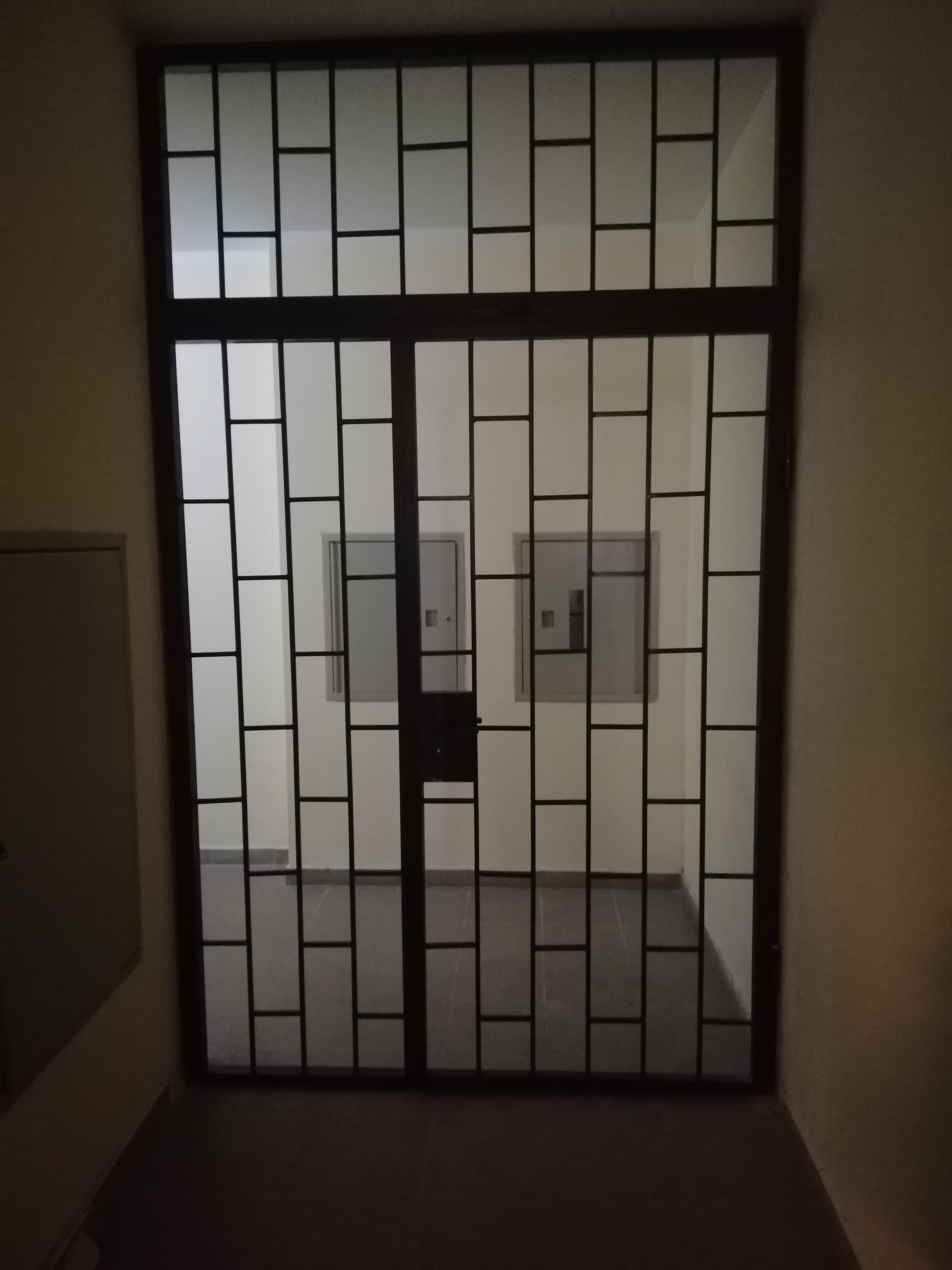 Фото Дверь решотка