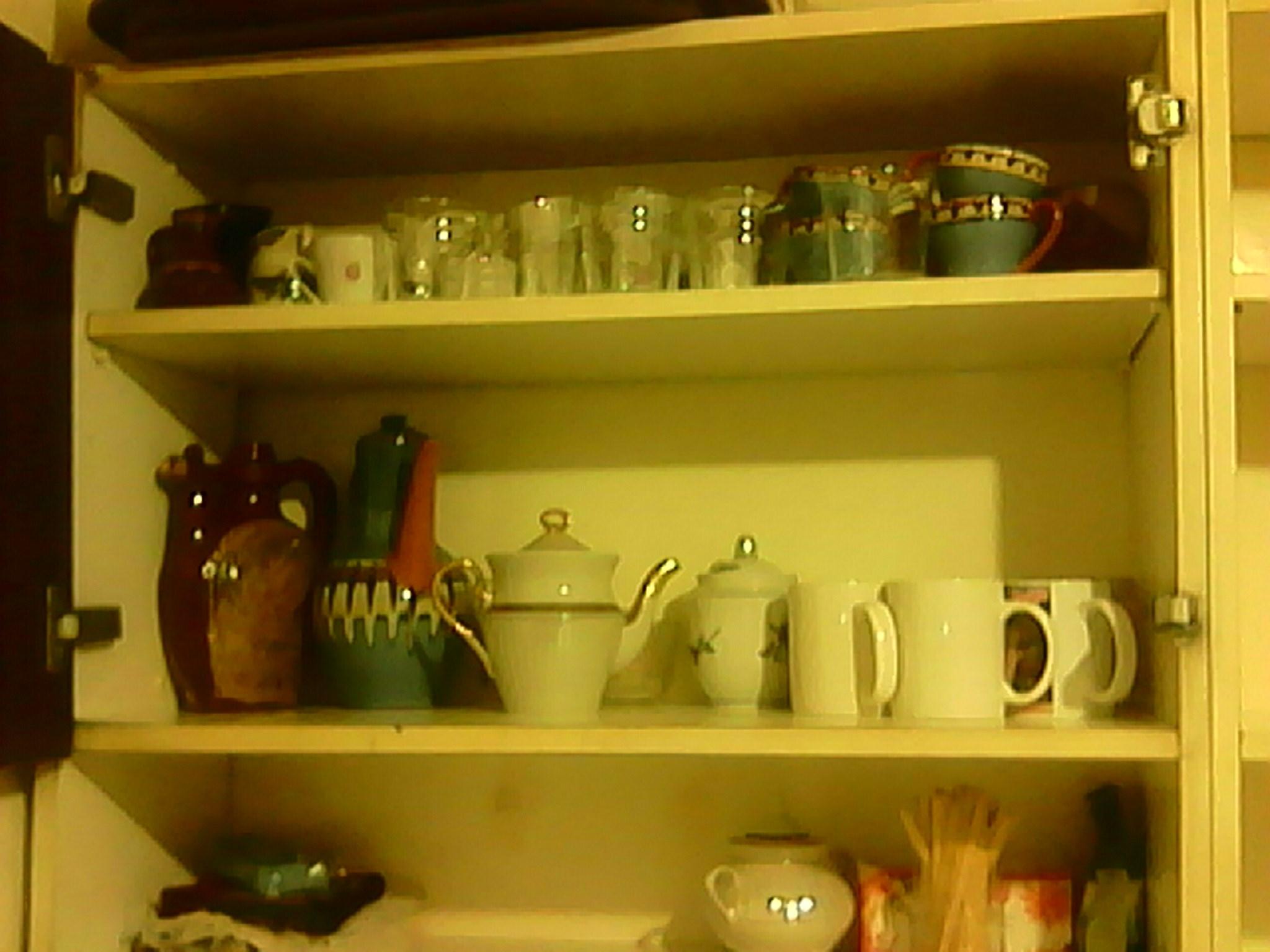 Фото Уборка офиса-квартиры. Кухня, шкафы, посуда, помыты.