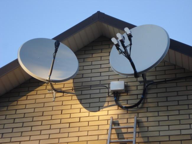 Фото Монтаж систем видеонаблюдения и спутникового телевидения 2
