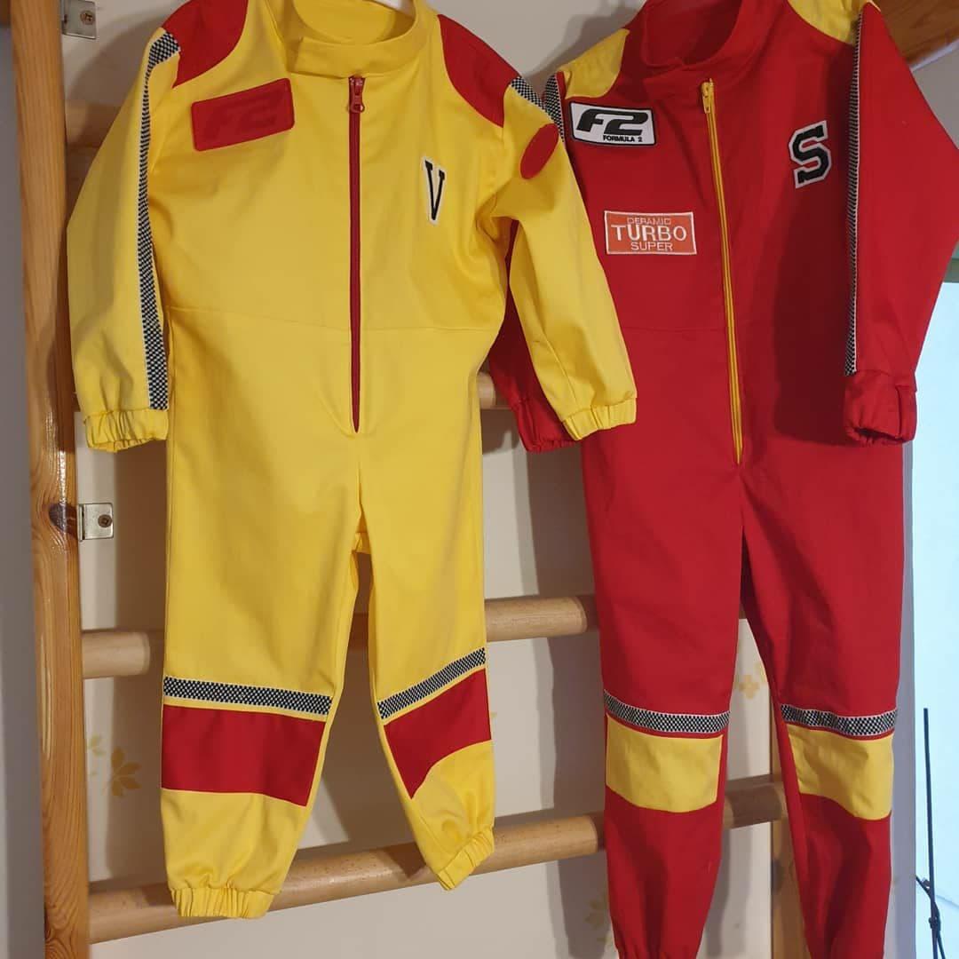 Фото Карнавальные костюмы для юных гонщиков.Разработка лекал, пошив.