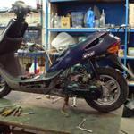 Ремонтирую скутера