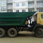 Доставка/вывоз чернозема, песка, щебня, строймусора и др.