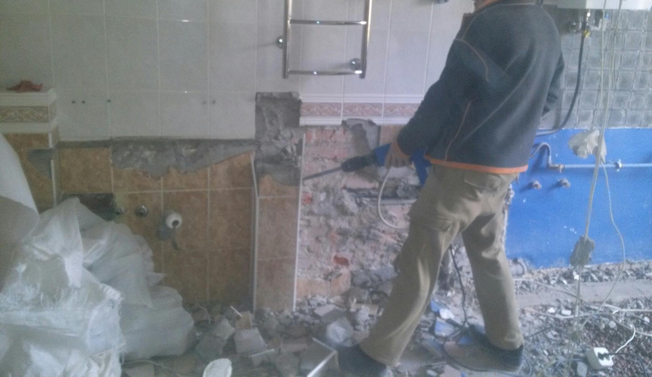 Фото Демонтажные работы в Днепре 3