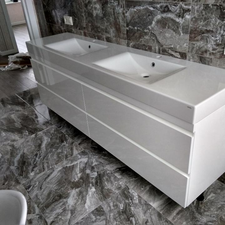 Фото Мебель в ванную комнату. 5