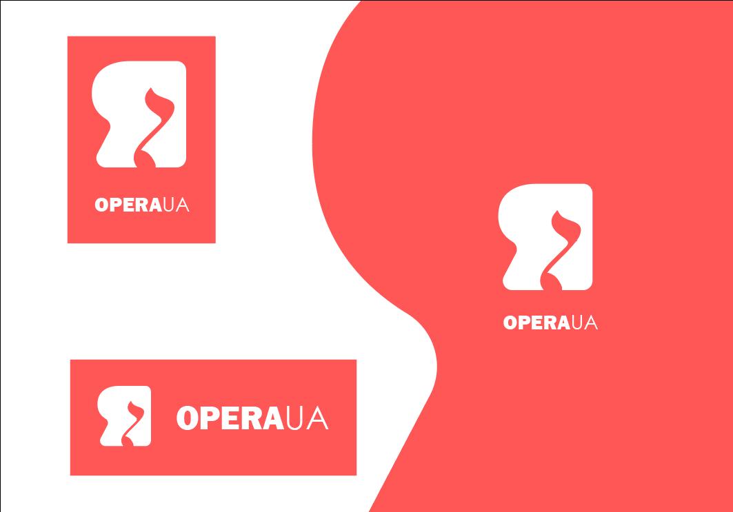"""Фото Логотип для проекта """"OPERA-UA"""" Национальной оперы Украины."""