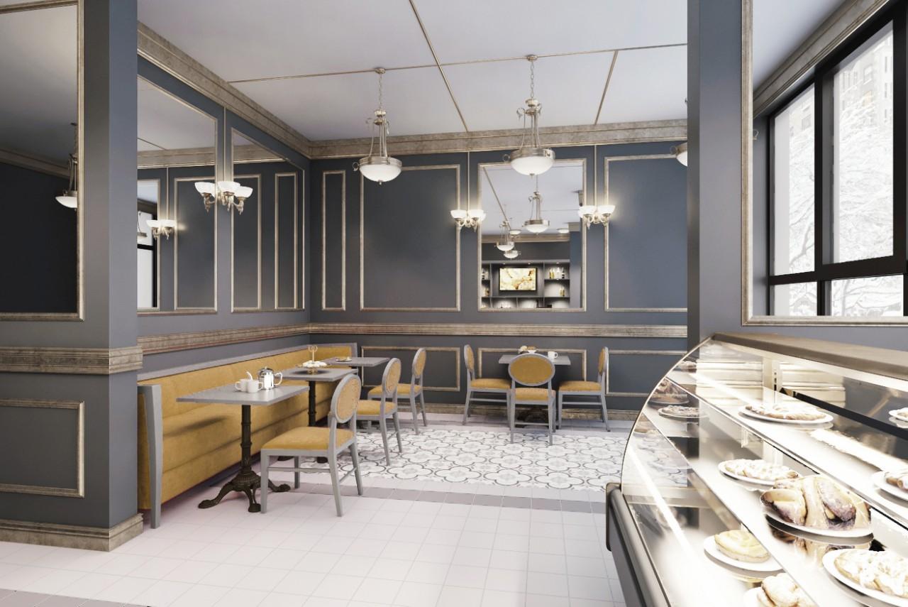 Фото Дизайн интерьера кафе-кулинарии