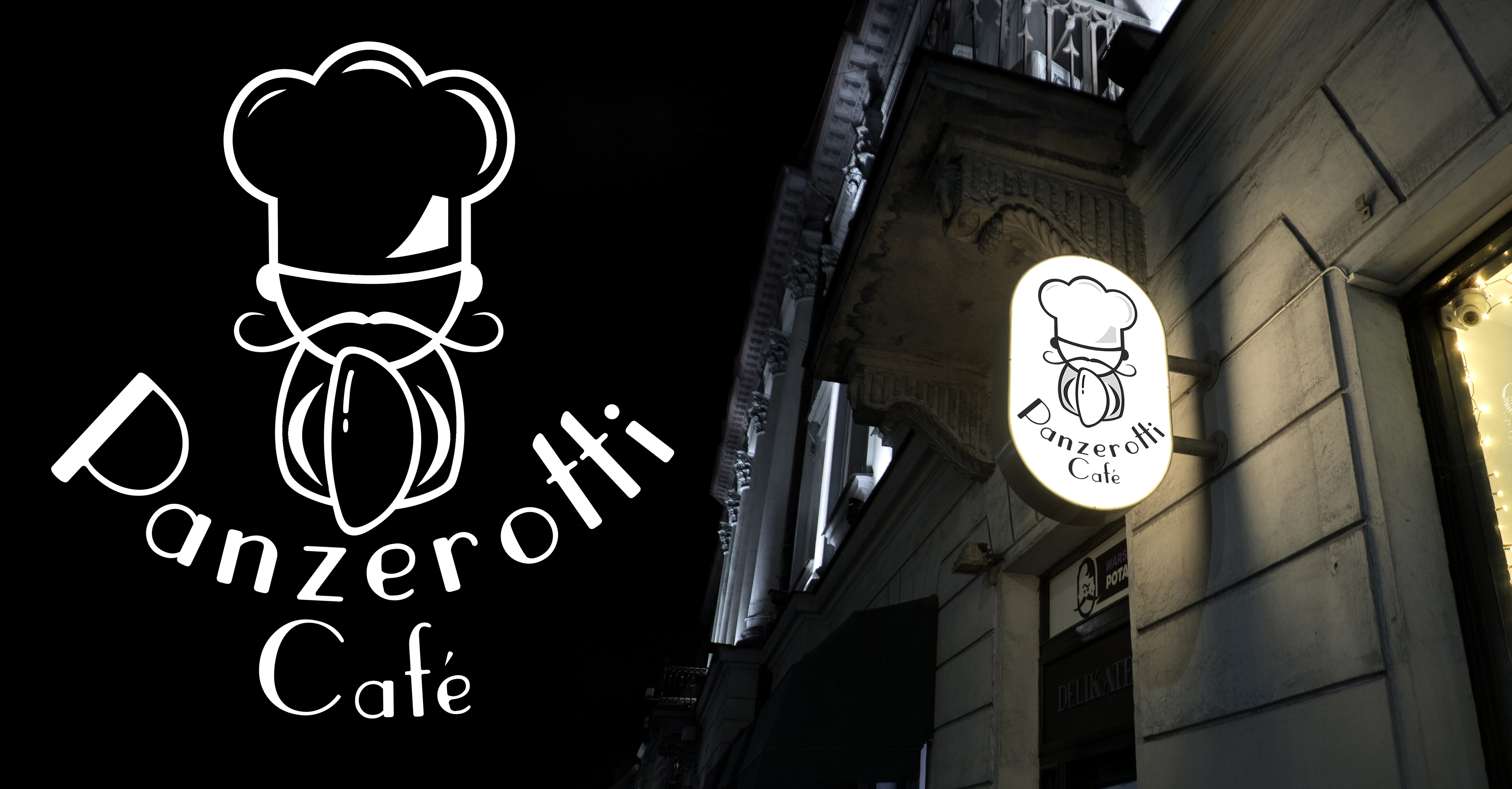 Фото Разработка логотипа для Panzerotti Cafe