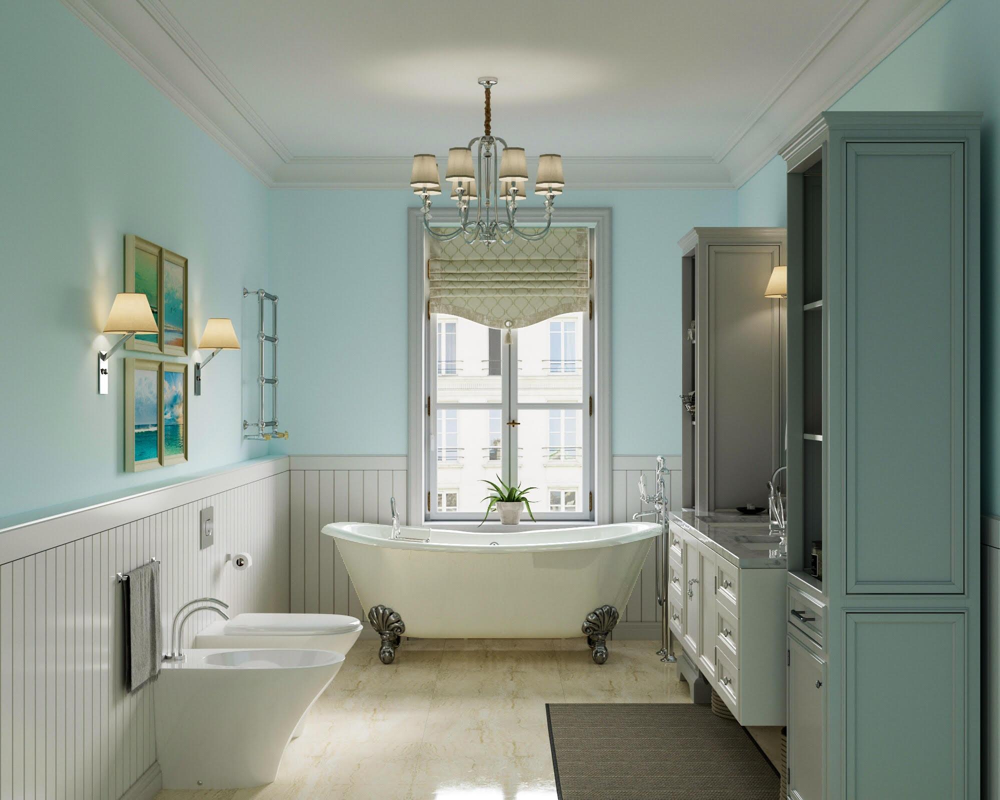 Фото Дизайн интерьера ванной комнаты.