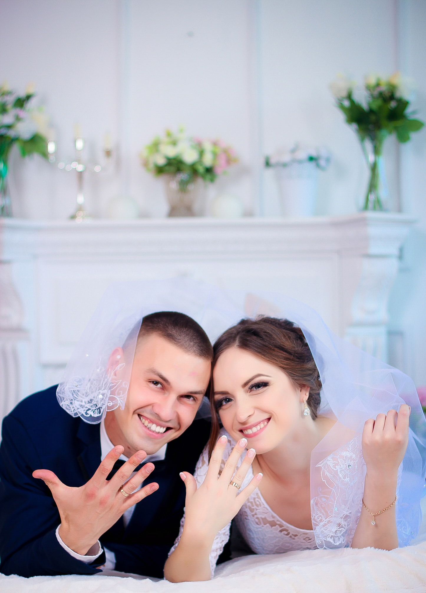 Фото Фотосессия свадьба в студии, 1 час