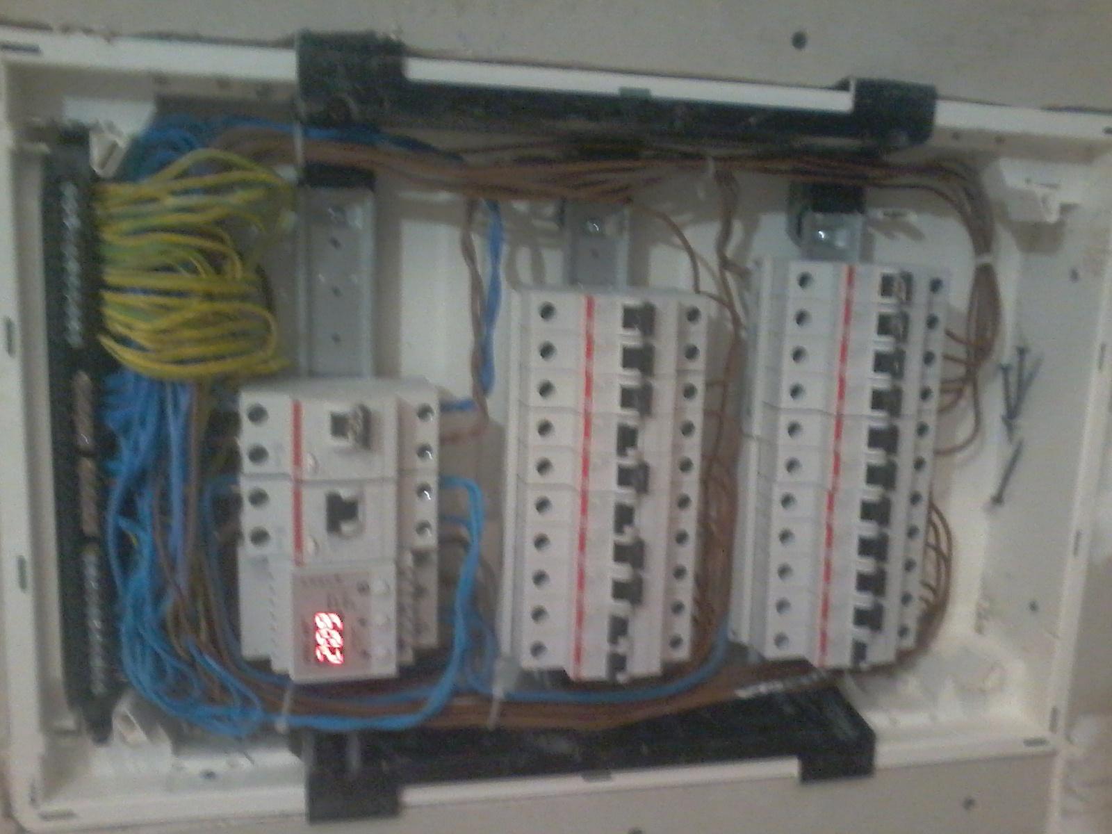 Фото Сборка электрощита