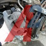 Колодки тормозные передние/задние замена