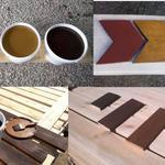Шведская краска для защиты и отделки поверхности дерева