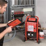 Промивка систем опалення (батарей та систем «тепла підлога») за допомогою сучасного обладнання.
