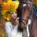 Съемка с лошадками
