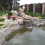Строительство прудов, декоративных водоемов,водопадов