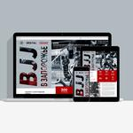 Landing page for the club of martial arts