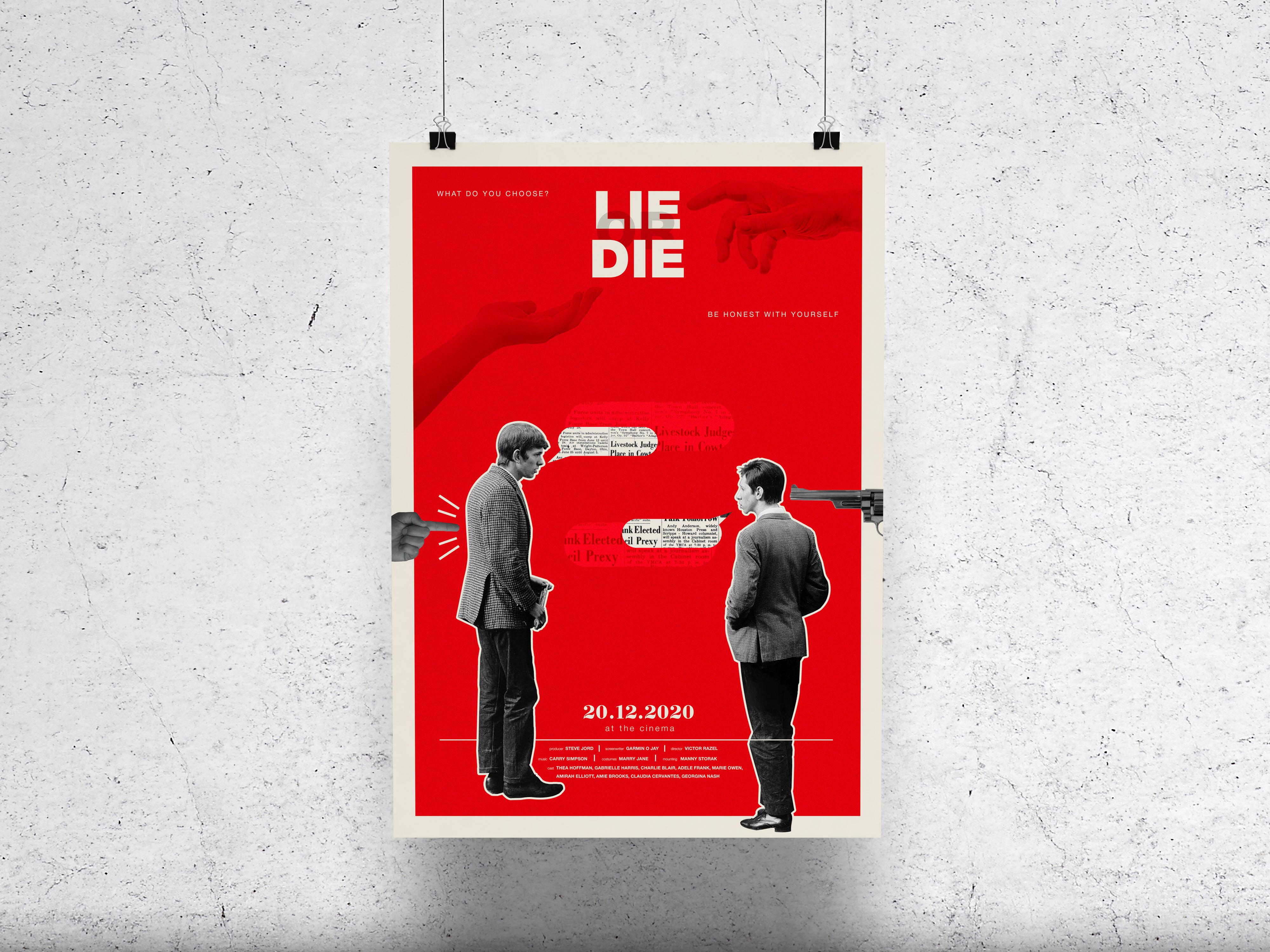 "Фото Poster for 'Lie or Die"""