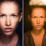 Retouching and processing