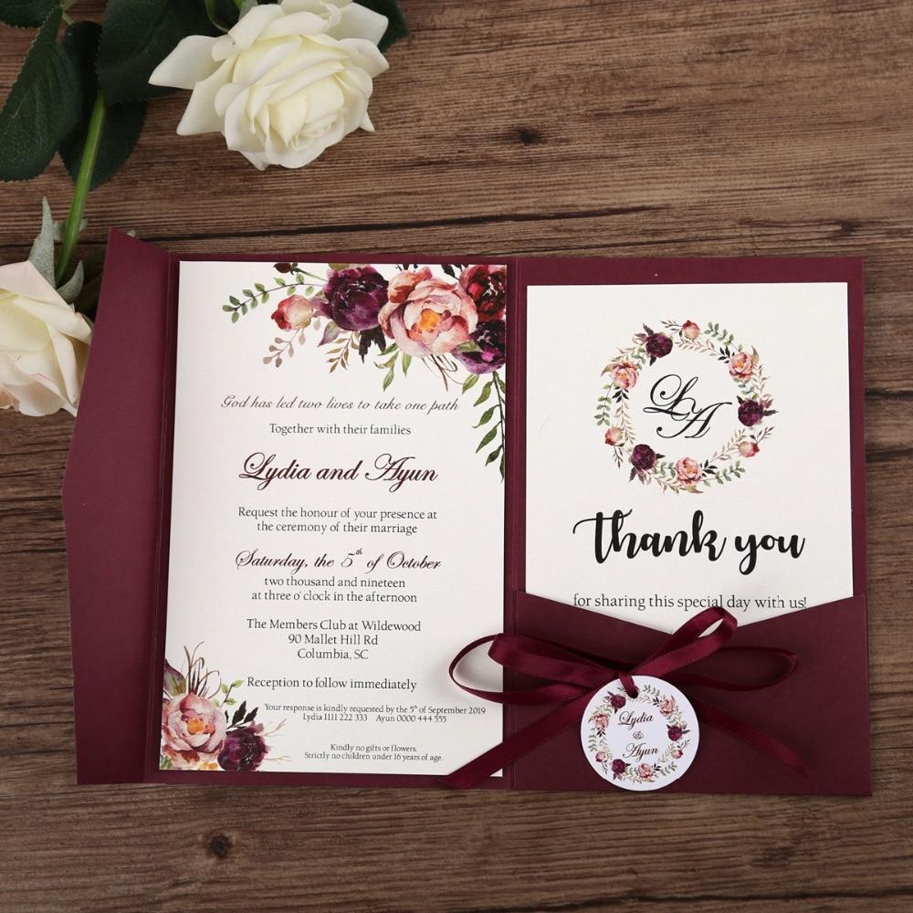 Фото Свадебное приглашение
