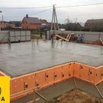 Демонтаж бетона фундамента старых строений-построек цена киев и обл