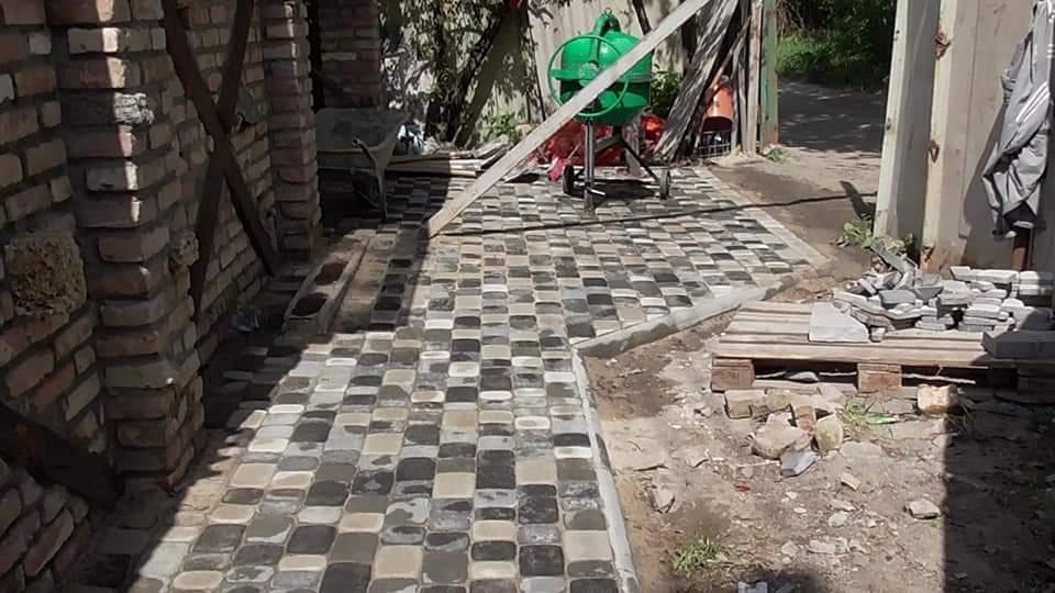 Фото Тротуарная плитка