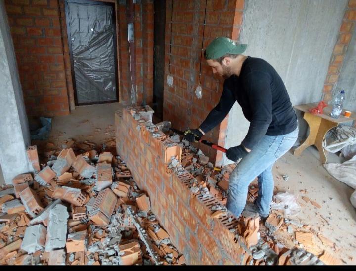Фото Подготовка помещений к ремонту. Демонтаж 1