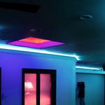 Установка светильников LED, подсветка