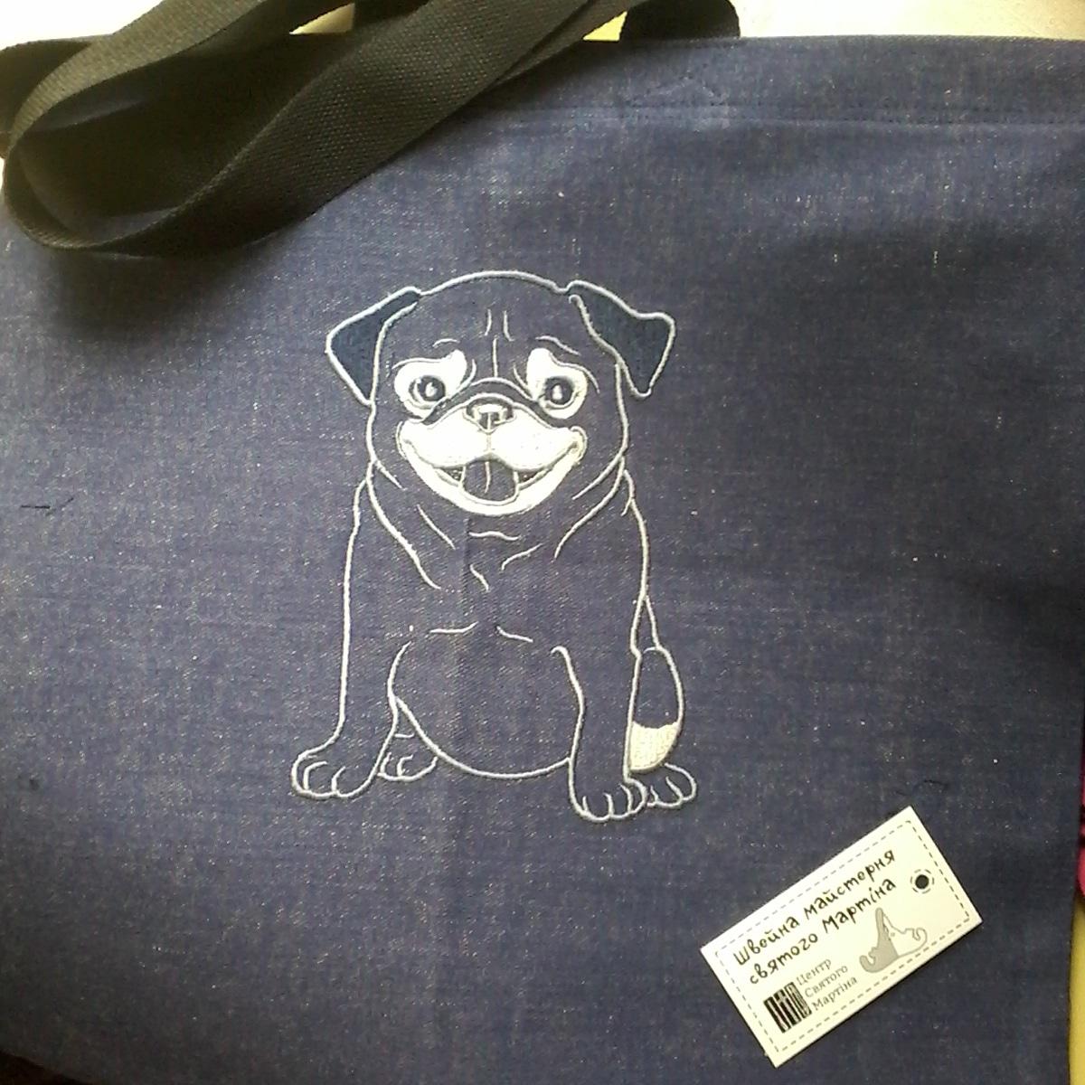 Фото Эко-сумки и другие креативные изделия с  машинной вышивкой 1