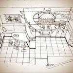 Передам навык подачи дизайнерских идей в ручной графике