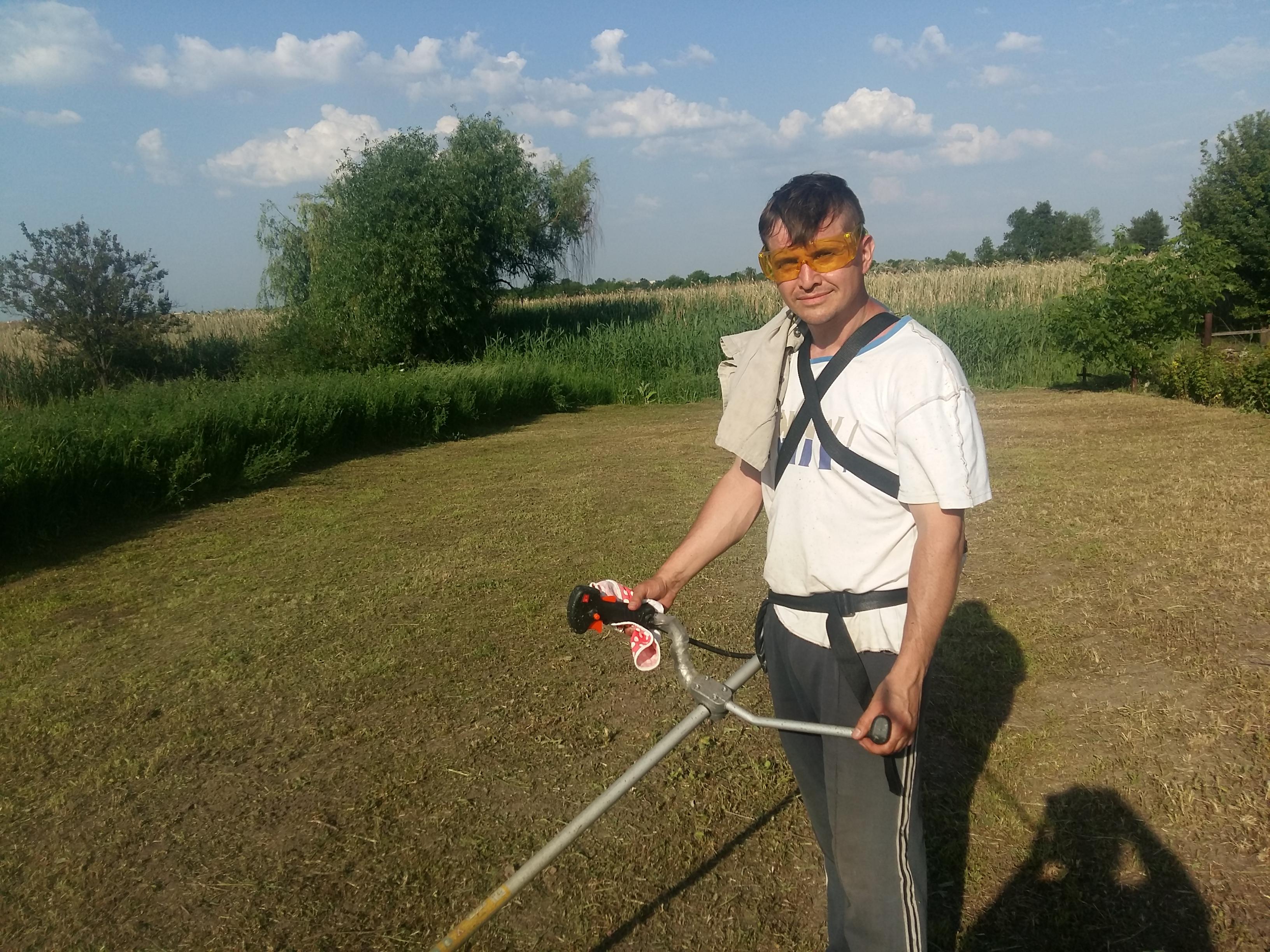 Фото Покос и уборка травы - 18 соток.